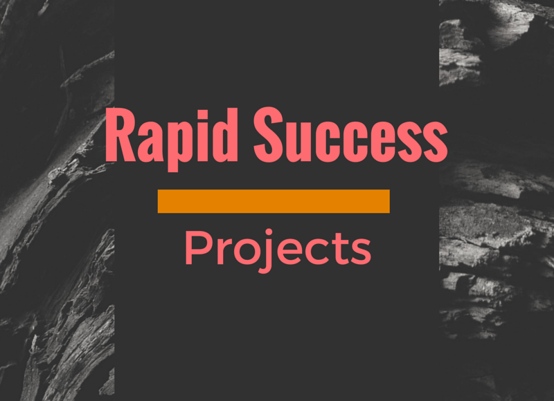 Rapid Success Projects: Lead Your Team to Quick Results